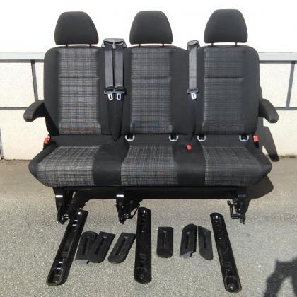 Сиденье диван 3 ряд Mercedes Vito 639