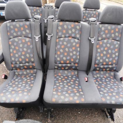 Оригинальные сиденья салона Mercedes Vito 639