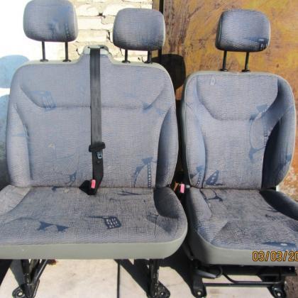 Сиденья водительское и пассажирское передние Renault Trafic Opel Vivar