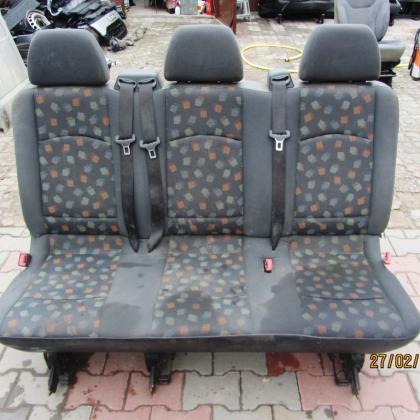 Сиденье диван третий ряд тройка Mercedes Vito 639