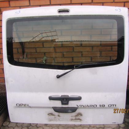Дверь задняя ляда  renault trafic opel vivaro nissan primastar