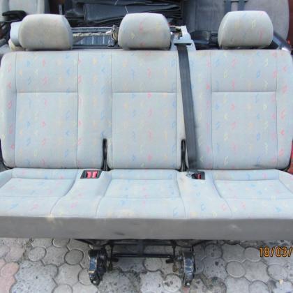 Диван сиденья заднее 3 ряд Volkswagen T5 Karavelle