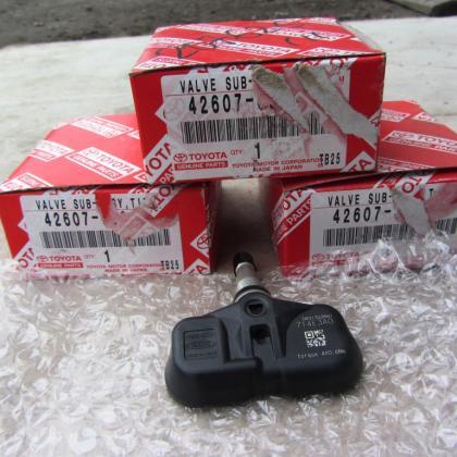 Датчик давления воздуха шин колес PA66-GF33 Lexus Toyota ПРОДАНО