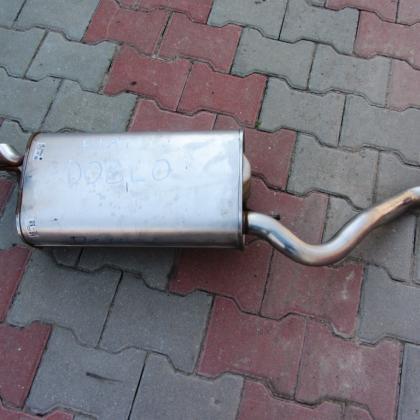Глушитель Fiat Doblo Фиат Добло