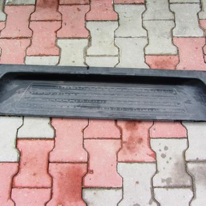 Пластиковая накладка бокового порога салона vw Transporter T5