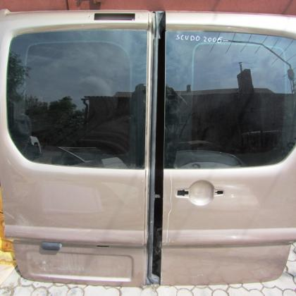 Двери задние распашонка Fiat Scudo Peugeot Partner Citroen Jampy 2006-