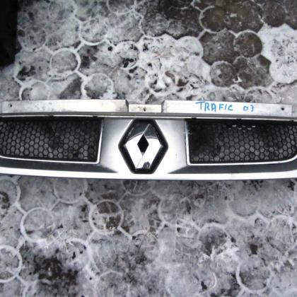 купить Решетка передняя renault trafic серый металик в Украине
