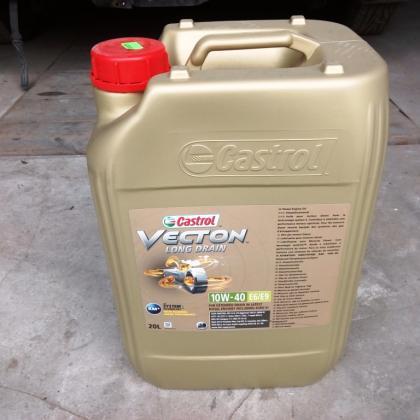 Моторное масло Castrol Vecton Long Drain 10W40 E6/Е9