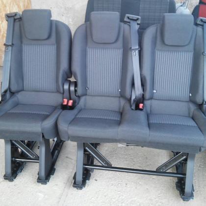 Сиденье Ford Custom тройка 2+1 сидушки оригинал трансформер