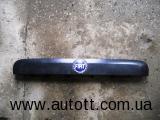 Пластиковая накладка подсветки номера Fiat Doblo