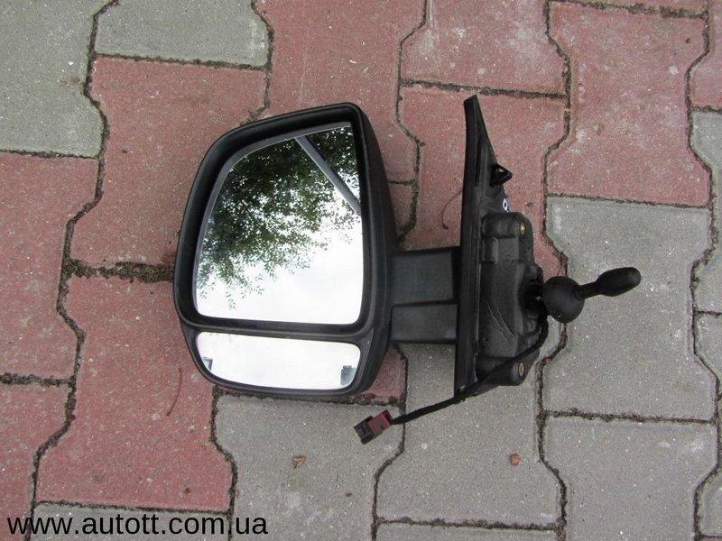 Зеркала на фиат добло